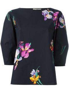 ETRO floral print blouse. #etro #cloth #print