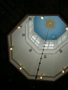A church in Ilmajoki, Finland ©eijakallioniemi Finland, Ceiling, Sky, Mirror, Country, Beautiful, Home Decor, Historia, Heaven