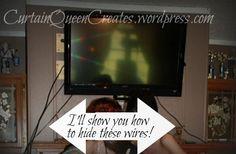 Hiding Tv Wires On Pinterest Hide Tv Cables Hiding