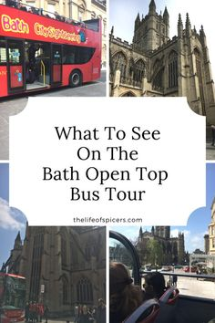 Bath Open Top Bus Tour
