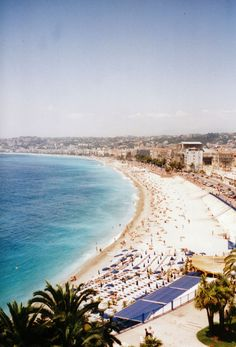 Nice, France - My dad would always say Nice (France) is Nice!  haha!!