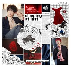 """""""""""Vive la Revolution"""" ~ B.A.P"""" by niamho99 ❤ liked on Polyvore featuring GET LOST, D.anna, Gucci and Lime Crime"""