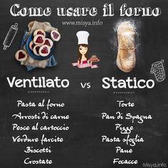 Forno statico o ventilato? http://www.misya.info/guide/forno-statico-o-ventilato-quale-scegliere