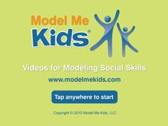 Model me Kids: Model me going places.  Free app!  Great for teaching navigating throughout the community