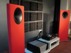Emerald Physics CS2 Open Baffle Speakers.
