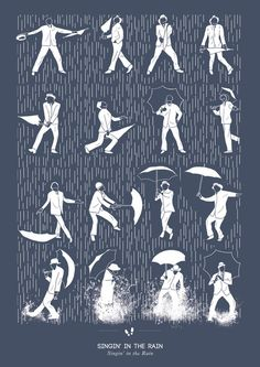 Singin' In The Rain Framed Art Print by Niege Borges   Society6