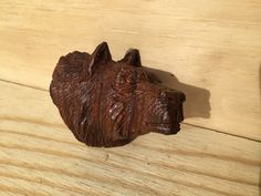 A personal favorite from my Etsy shop https://www.etsy.com/listing/502094885/ironwood-wolf-carving-rustic-finish