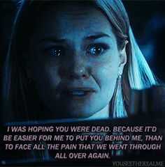 When Emma cries, I cry. I guess bc she's so tough, and when she breaks, it must be bad.