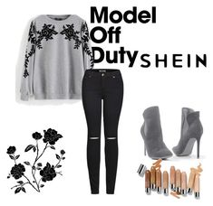 """""""shein"""" by lola111-1 ❤ liked on Polyvore featuring 2LUV, Venus and Olsen"""