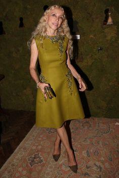 Vogue Italia editor in chief Franca Sozzani