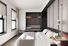 The Robey, Chicago, a Member of Design Hotels™ - Bedroom View