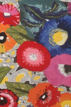Slide View: 2: Blazing Poppies Wallpaper