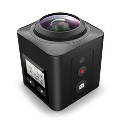 X5 360 Degrees Panoramic Sport Action Camera DV WiFi 1440P IMX179 WiFi IR RF 2.4G Controller