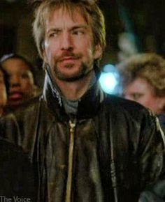 "1989 -- Alan Rickman as Ed from the movie ""January Man"" ♥♥♥  Oh My!!!! ♥♥♥"