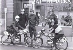 Amateur Picture Itom Motorcycles Bromfietskoersen West-Vlaanderen Old Photos, Belgium, Nostalgia, Bicycle, Racing, Motorcycle, Lady, Men, Photos