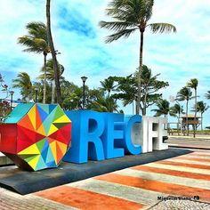 Praia de Boa Viagem, Recife (PE.com) Foto: instagram/@eoviana_(640×640)