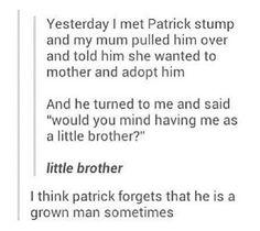 I love Patrick!