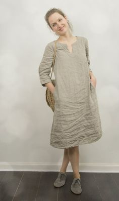 linen tunic dress - Google Search