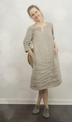 linen tunic dress - Google Search