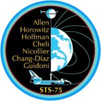 STS 75 Columbia February 22, 1996 - March 9, 1996