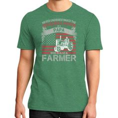 Farmer lovers District T-Shirt (on man)