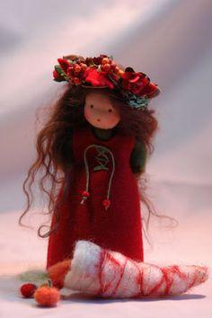 Herbst-Kind - Jahreszeitentisch von Katjas Puppenstübchen auf DaWanda.com