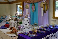 Princess Jasmine - ALADDIN Birthday Party Ideas | Photo 1 of 11 | Catch My Party