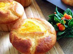 オレンジとクリームチーズのマフィンの画像