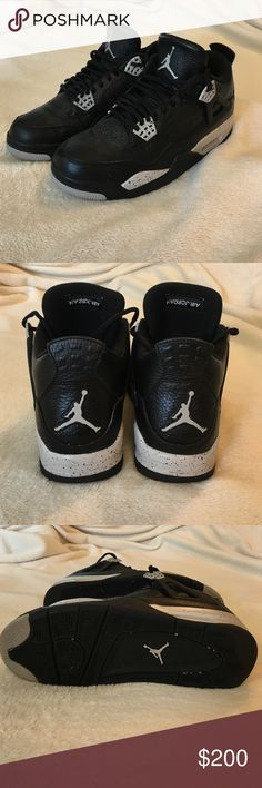 "Jordan 4 ""Oreo"" Nike Almost brand new. Worn less than 10 times still in great condition! Size 9. Nike Shoes Athletic Shoes"
