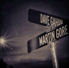 The greatest intersection!!!  Dave Gahan & Martin Gore - Depeche Mode