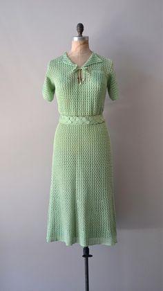 Woollen dress.