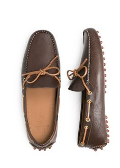 H.E. BY MANGO - Leather driving shoes #Menswear #SS14
