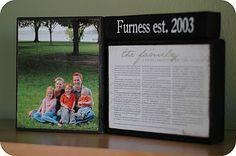 Ruffled Sunshine: Proclamation to the Family {mini tutorial}