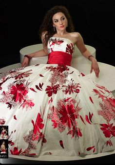 Love it! You know, this would make an awesome non-traditional wedding dress!