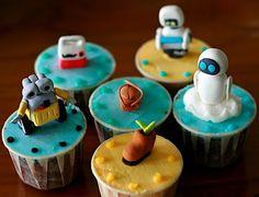 Wall-E Cupcakes :)