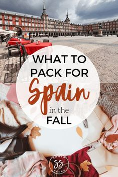 Wondering what to wear during your visit to Spain? This post breaks down everything you need to pack for Spain in the fall. With this packing list, you'll be able to take just want you need and nothing more. Packing List For Travel, Europe Travel Tips, Travel And Leisure, European Travel, Travel Advice, Travel Guides, Travel Destinations, Packing Lists, Travel Hacks