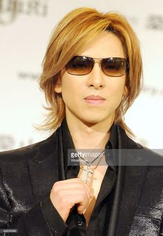 Musician/ producer Yoshiki of X JAPAN attends a press preview of Yoshiki Jewellery Collection at Imperial Hotel on September 24, 2008 in Tokyo, Japan.
