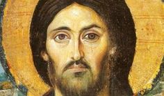 Encaustic painting on Wood. Catherine's Monastery, Sinai, gift of the Emperor Justinian and the oldest preserved icon of Christ Pantocrator, as well as the oldest known panel icon. Christ Pantocrator, Byzantine Icons, Byzantine Art, Religious Icons, Religious Art, Images Of Christ, Spiritus, Old Images, Orthodox Icons