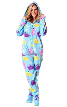 Gahhh my eyes! Tie Dye Deluxe Footed Adult Onesies, Footed Pajamas ...