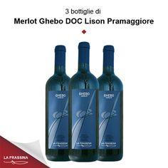 Confezione 3 Merlot Ghebo DOC Lison-Pramaggiore | La Frassina - Vendita online vini rossi e rosati