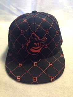 baltimore american needle cooperstown collection fitted cap size 7 12