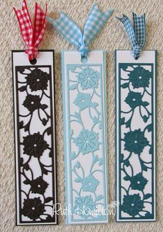 Blog tonic: New Tonic release - Quick and easy bookmarks from RUTH