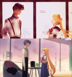 Sailor Moon Crystal- Act 7 Usagi x Mamoru by SairlorMoonFans.deviantart.com on…