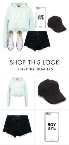 """Untitled #92"" by marija-jozic on Polyvore featuring Ivy Park, rag & bone, Alexander Wang and Converse"