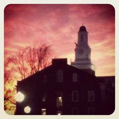 Tennessee Tech University, Derryberry Hall at sunset