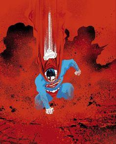 Dc Comics Art, Fun Comics, Marvel Comics, Superman Artwork, Batman Vs Superman, Superman Stuff, Comic Art Fans, Comic Books Art, Nightwing And Starfire