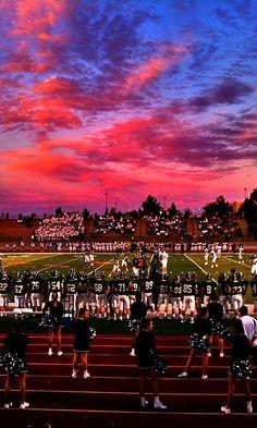 Sunset/ Football