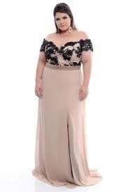 Image result for vestidos de festa plus size