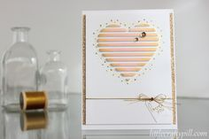 Valentine's card: Dimensional heart