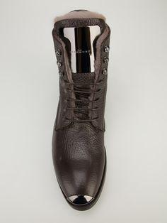 John Richmond Lace Up Boot
